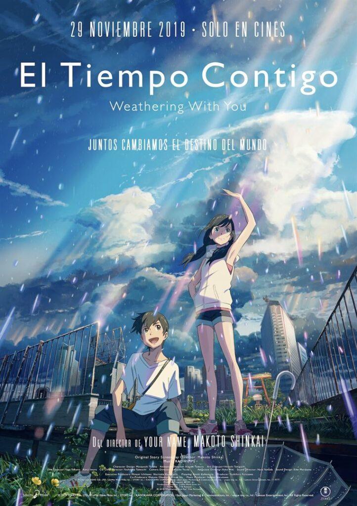 ¡Tráiler de 'El Tiempo Contigo'! La nueva aventura de Makoto Shinkai • En tu pantalla