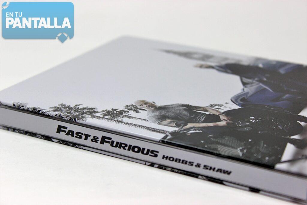 'Fast & Furious: Hobbs & Shaw': un vistazo al Steelbook limitado Blu-ray • En tu pantalla