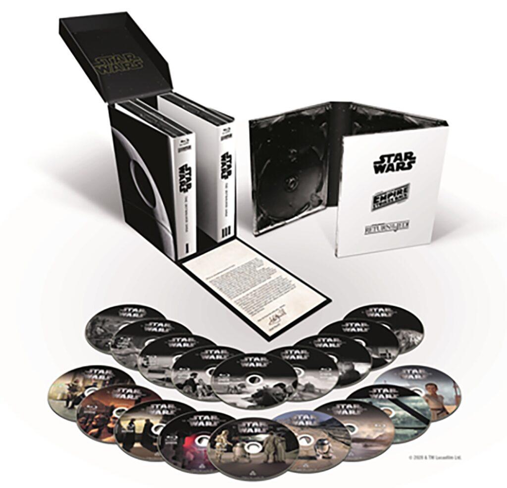 La saga Skywalker será lanzada al completo en Blu-ray y Dvd el 22 de abril • En tu pantalla
