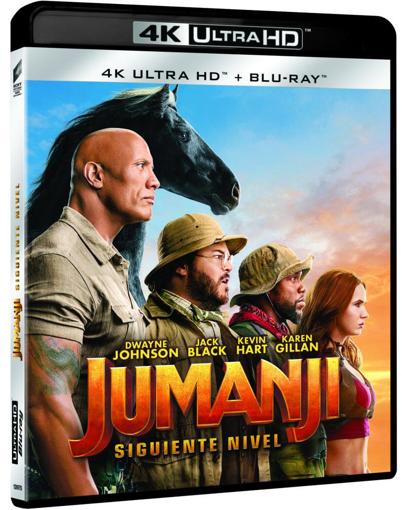 'Jumanji: Siguiente nivel' en 4K, Blu-ray, steelbook y Dvd el 3 de abril • En tu pantalla