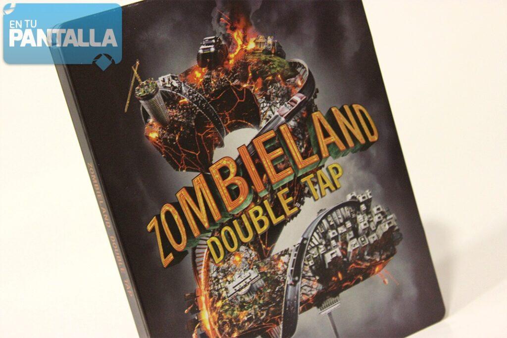 'Zombieland: Mata y Remata': Un vistazo al steelbook en Blu-ray • En tu pantalla