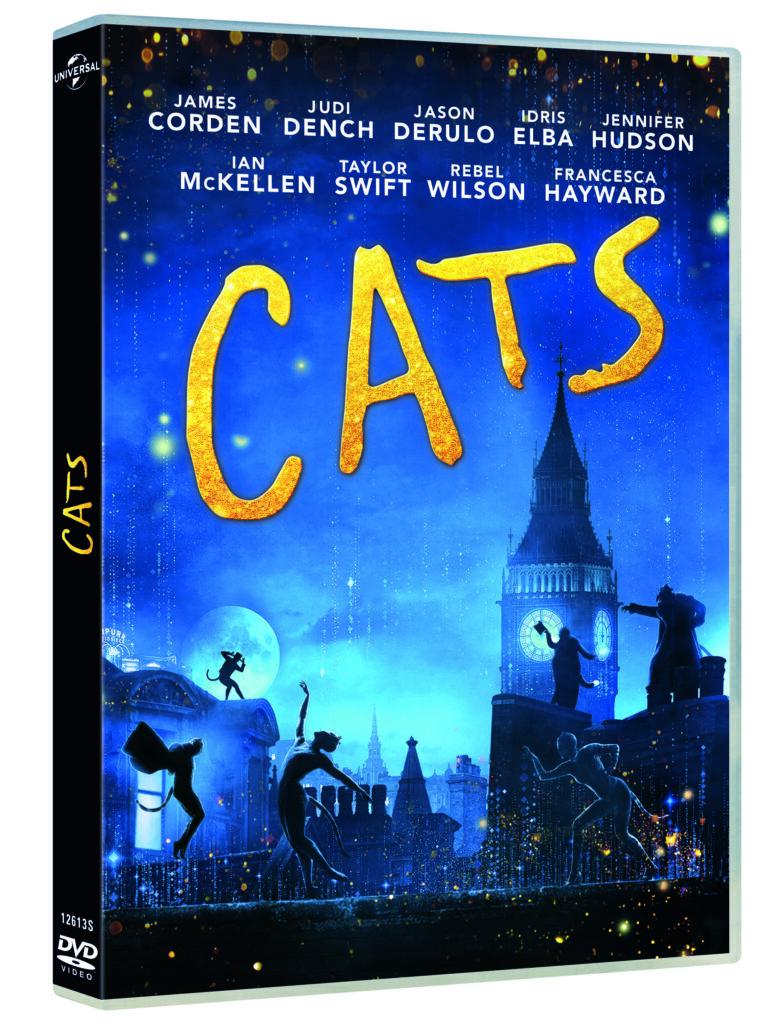 'Cats': El musical llega en Blu-ray y Dvd • En tu pantalla