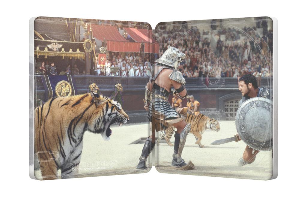 'Gladiator': ¡Una nueva edición steelbook 4K! • En tu pantalla