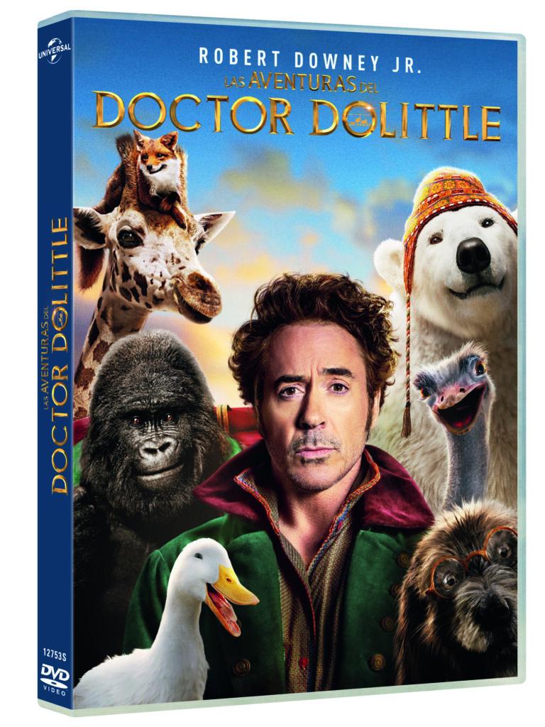 'Las aventuras del Doctor Dolittle' llegará en 4K, Blu-ray y Dvd el 22 de mayo • En tu pantalla