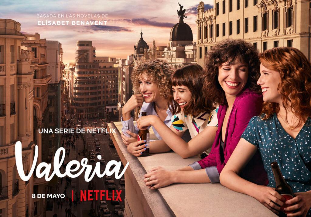 Tráiler de 'Valeria', la serie basada en las novelas de Elísabet Benavent • En tu pantalla