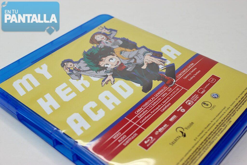 'My Hero Academia': Un vistazo a la primera temporada en Blu-ray • En tu pantalla
