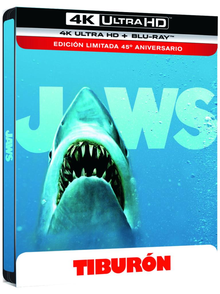 'Tiburón' llega en 4K Ultra HD el 5 de junio • En tu pantalla