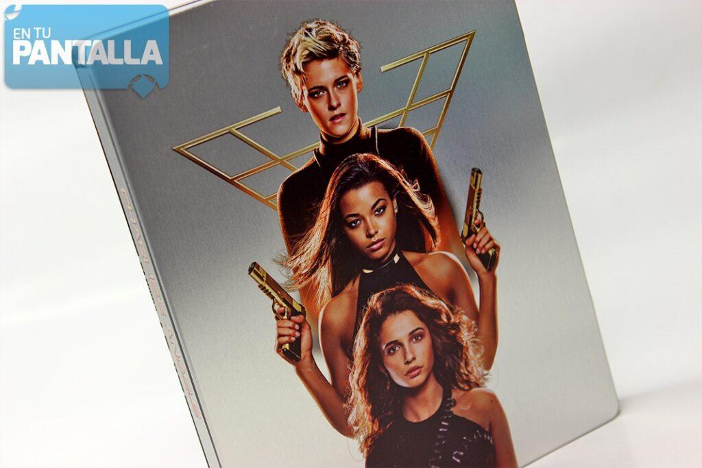 'Los Ángeles de Charlie': Un vistazo al Steelbook Blu-ray • En tu pantalla