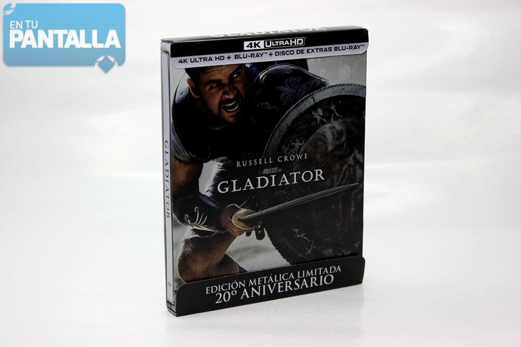 'Gladiator': Un vistazo al nuevo steelbook 4K Ultra HD • En tu pantalla