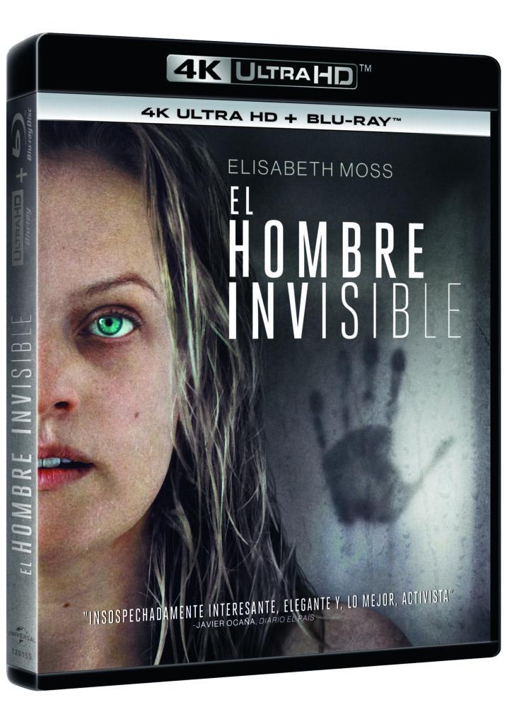 'El Hombre Invisible' llegará en 4K Ultra HD, Blu-ray y Dvd el 10 de julio