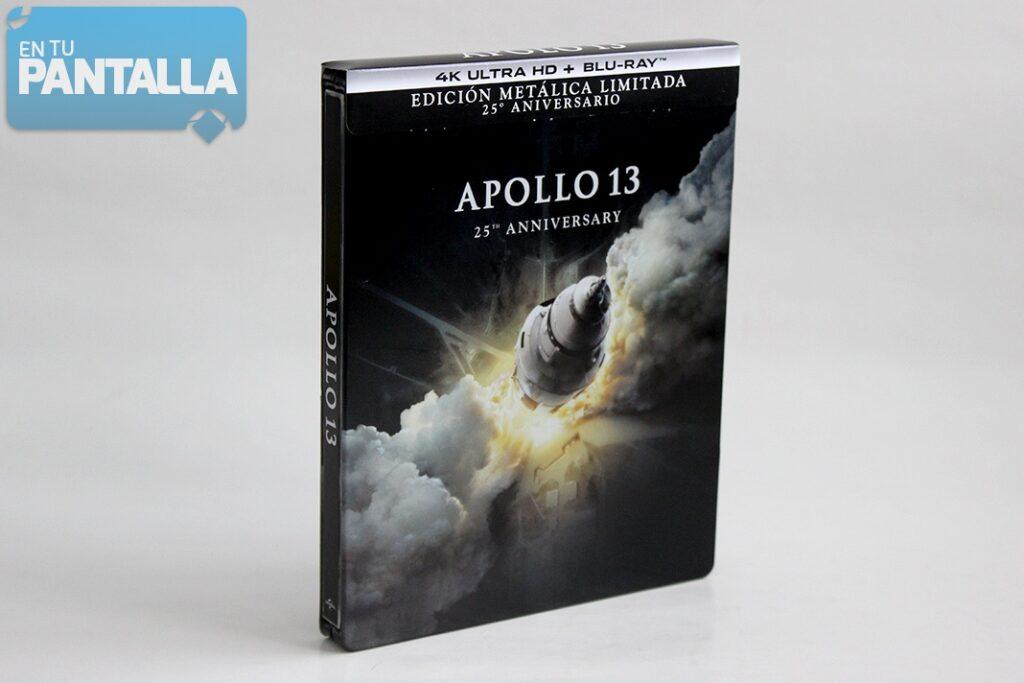'Apollo 13': Un vistazo a la edición steelbook 25º aniversario en 4K Ultra HD • En tu pantalla