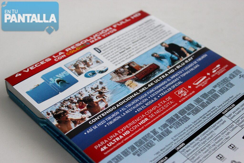 'Tiburón': Un vistazo a la edición steelbook en 4K Ultra HD • En tu pantalla