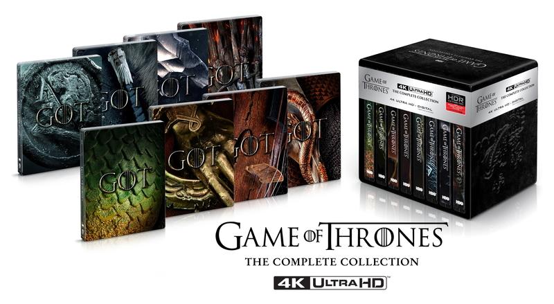 'Juego de tronos' lanzará nuevos packs en USA y UK con la serie en 4K Ultra HD • En tu pantalla