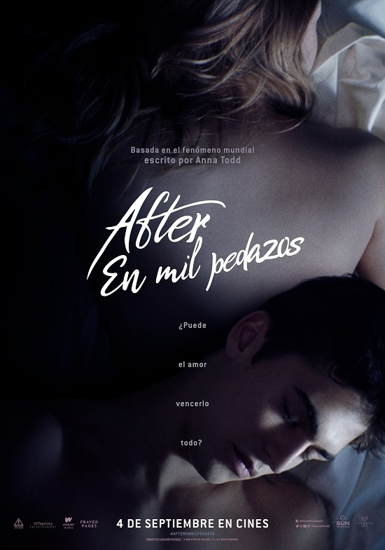 Póster de 'After. En mil pedazos'. (Fuente: Diamond Films)