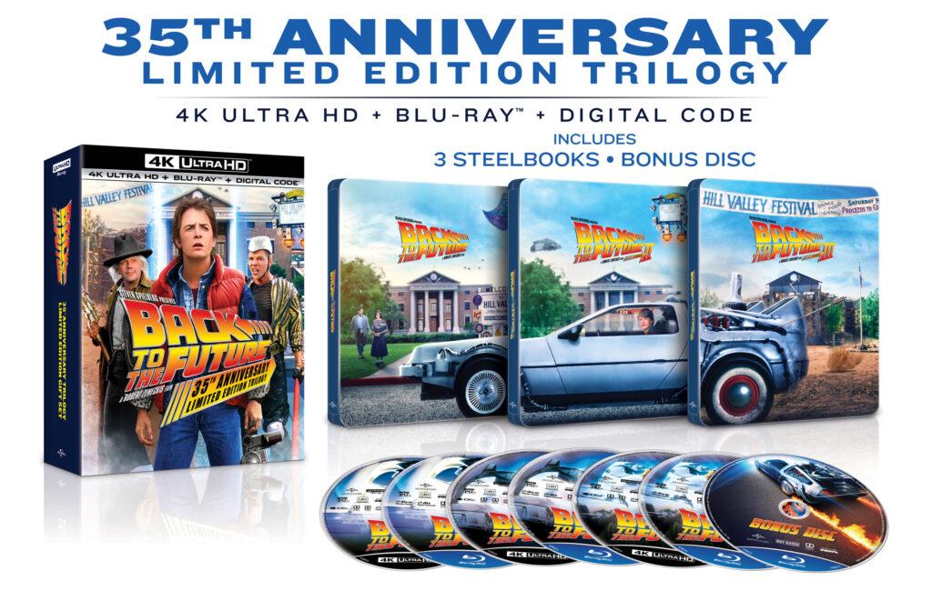 Pack 'Regreso al futuro' en 4K Ultra HD + Blu-ray. (Pertenece al lanzamiento en EE.UU.)