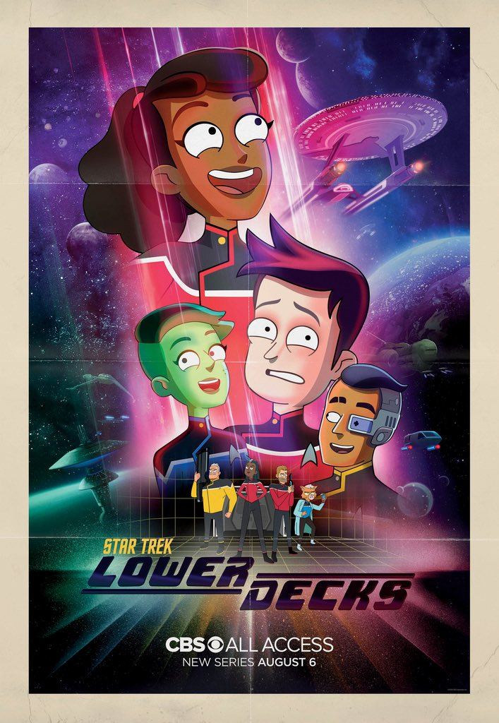 'Star Trek: Lower Decks': Primer tráiler de la serie animada de Star Trek