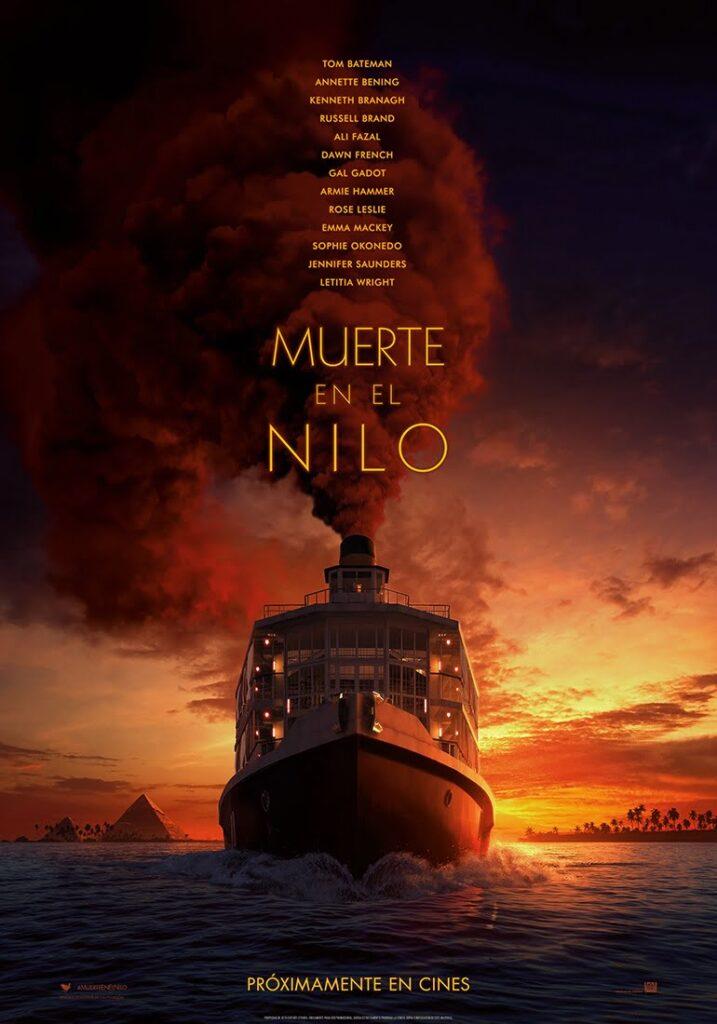 Póster de 'Muerte en el Nilo' (Fuente: Disney)