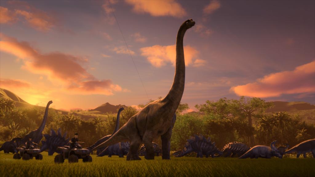 'Jurassic World: Campamento Cretácico' (Fuente: Netflix)