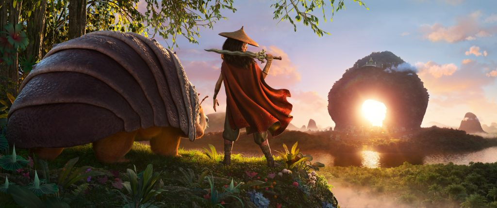 'Raya y el último dragón'. (Fuente: Disney)