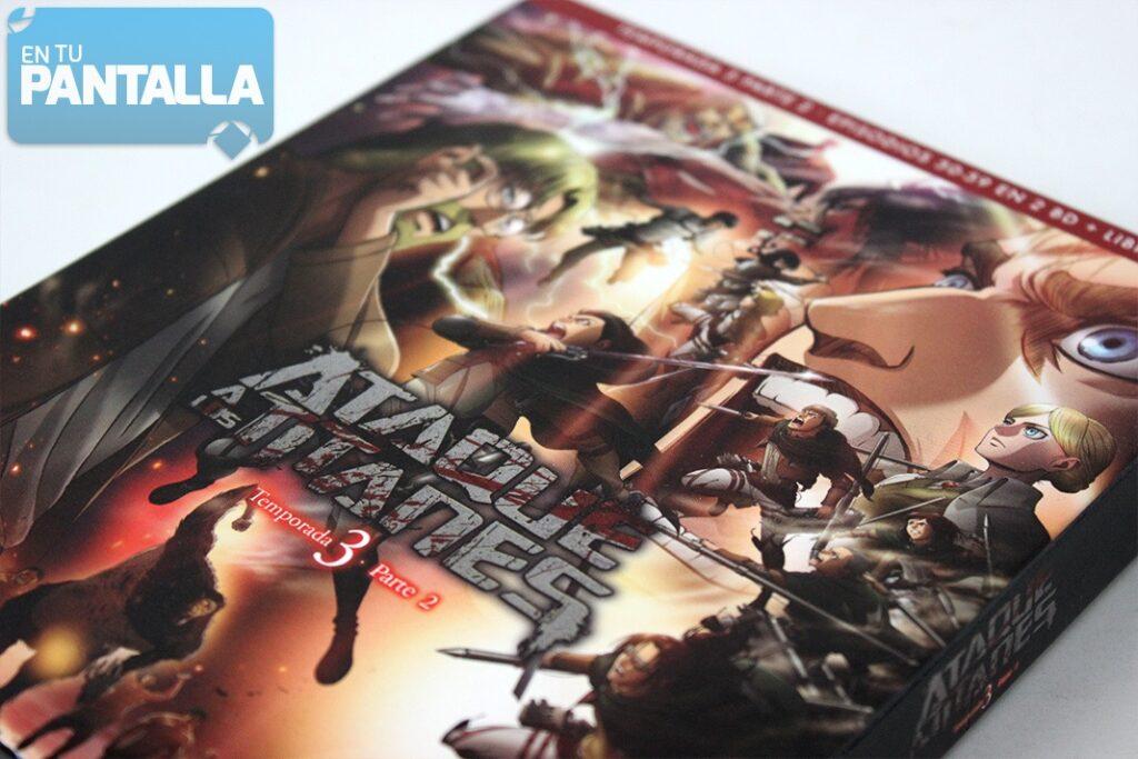 'Ataque a los Titanes, Temp. 3 Parte 2': Un vistazo a la edición Blu-ray de Selecta Visión • En tu pantalla