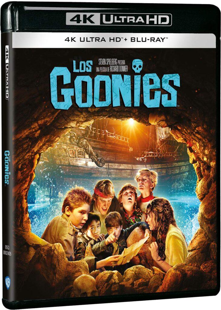 Carátula de 'Los Goonies' en 4K Ultra HD. (Fuente: Warner Bros)