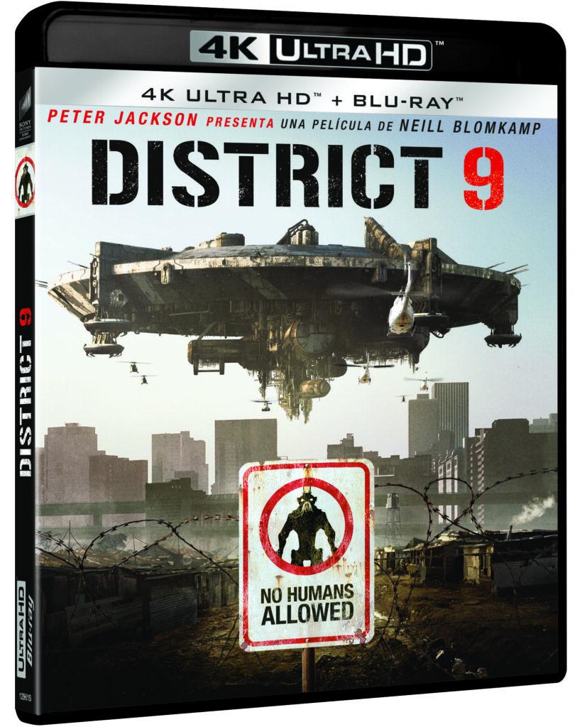 'District 9' llega en 4K Ultra HD el 21 de octubre