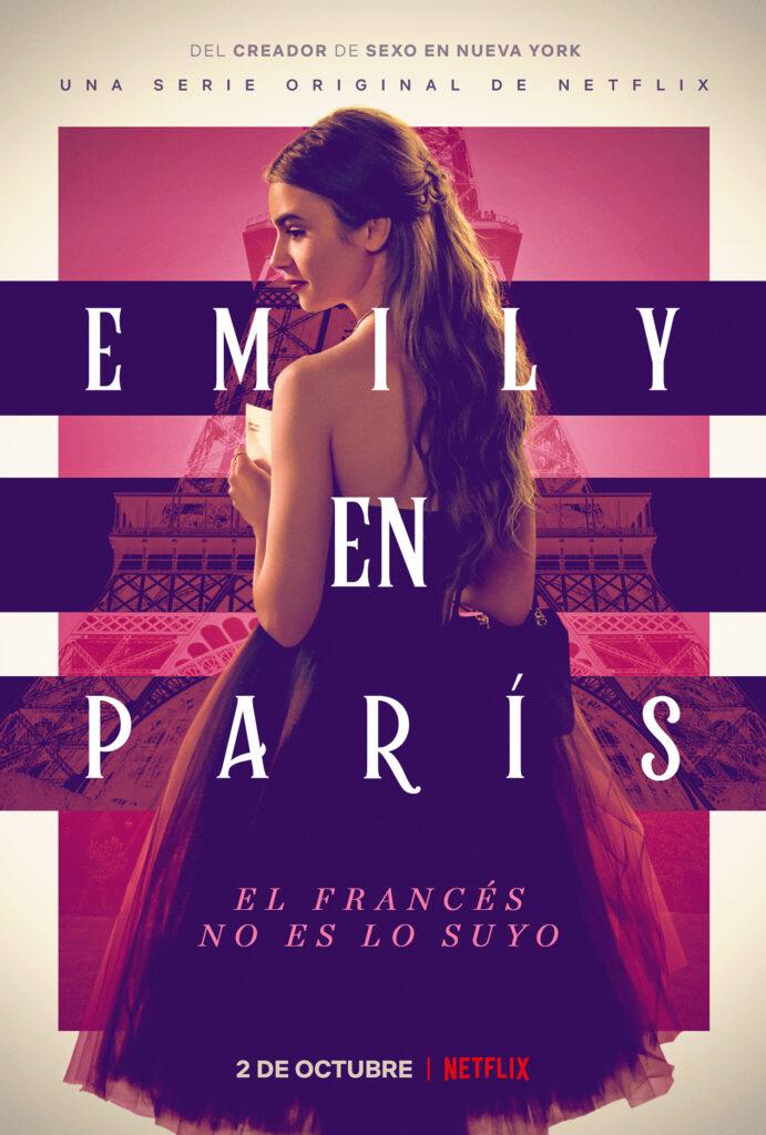 Póster de 'Emily en París' (Fuente: Netflix)