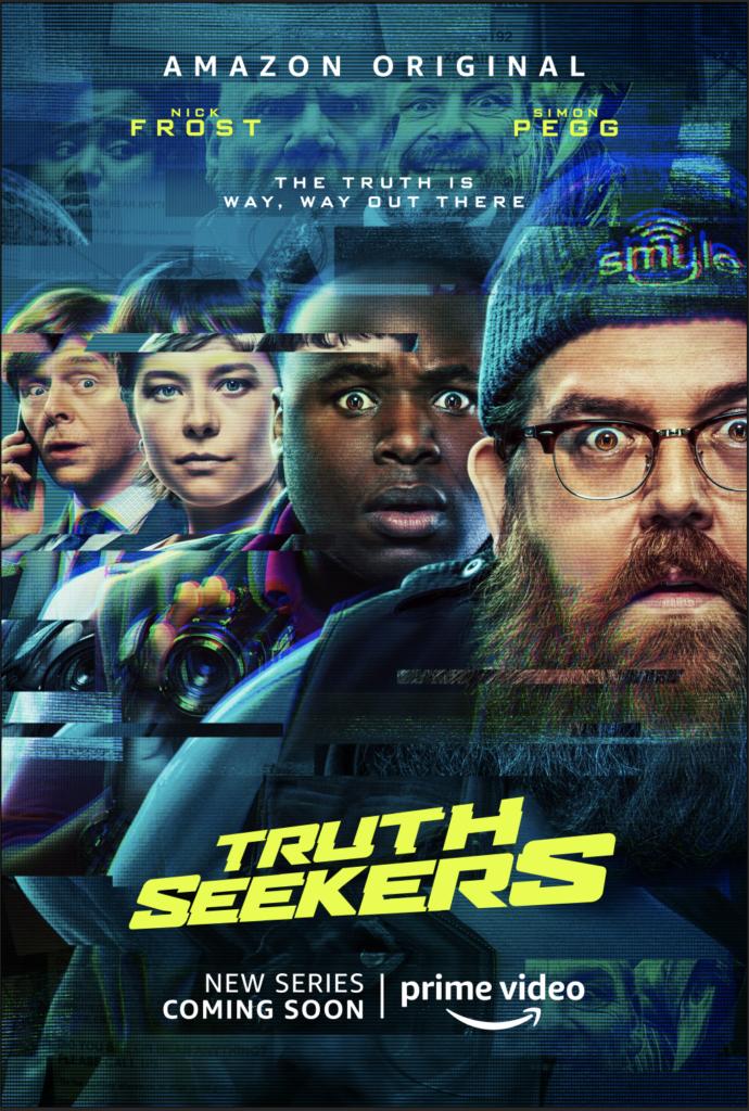 Póster de 'Truth Seekers'. (Fuente: Amazon Prime Video)