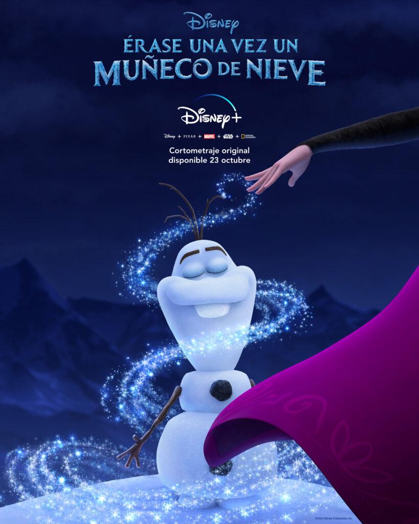 Póster de 'Érase una vez un muñeco de nieve'. (Fuente: Disney+)