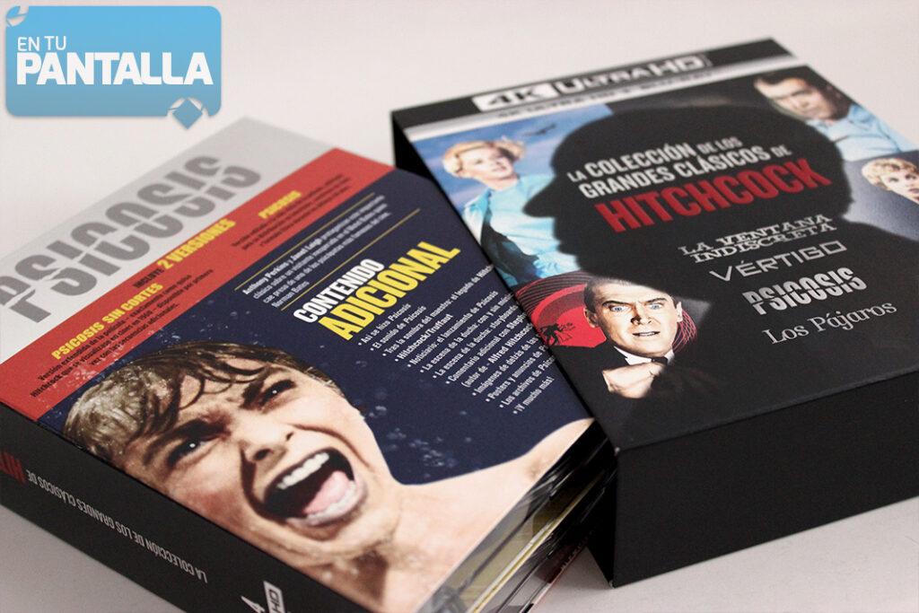 Un vistazo al pack 4K Ultra HD de Alfred Hitchcock • En tu pantalla