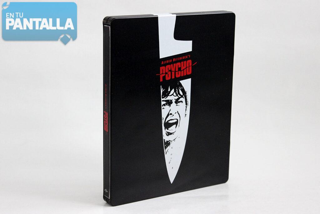 'Psicosis': Un vistazo al steelbook 4K Ultra HD • En tu pantalla