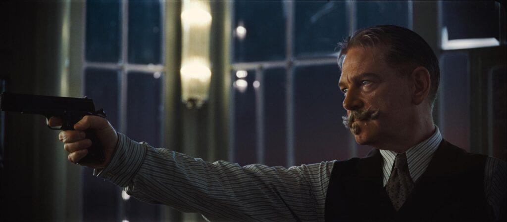 Kenneth Branagh como Hercule Poirot en 'Muerte en el Nilo'. (Fuente: 20th Century Studios)