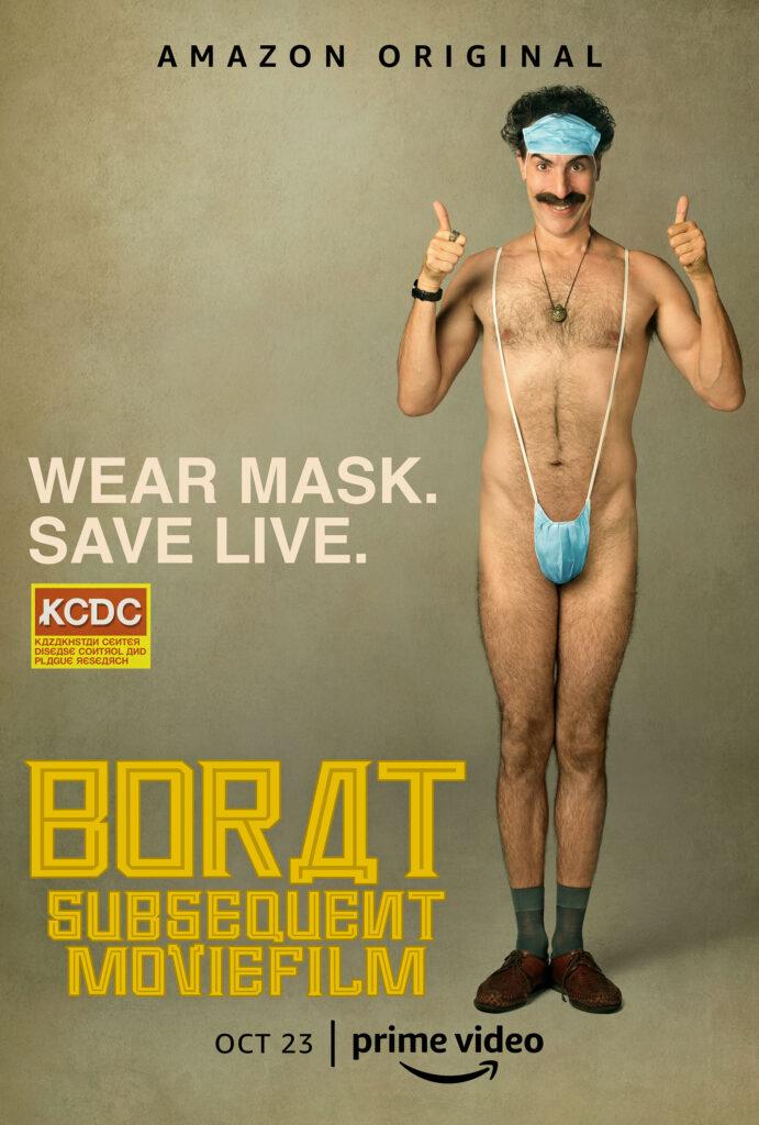 Póster de 'Borat: Subsequent Moviefilm'. (Fuente: Prime Video)