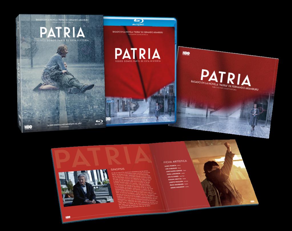 'Patria' en su edición especial en Blu-ray. (Fuente: Warner Bros.)