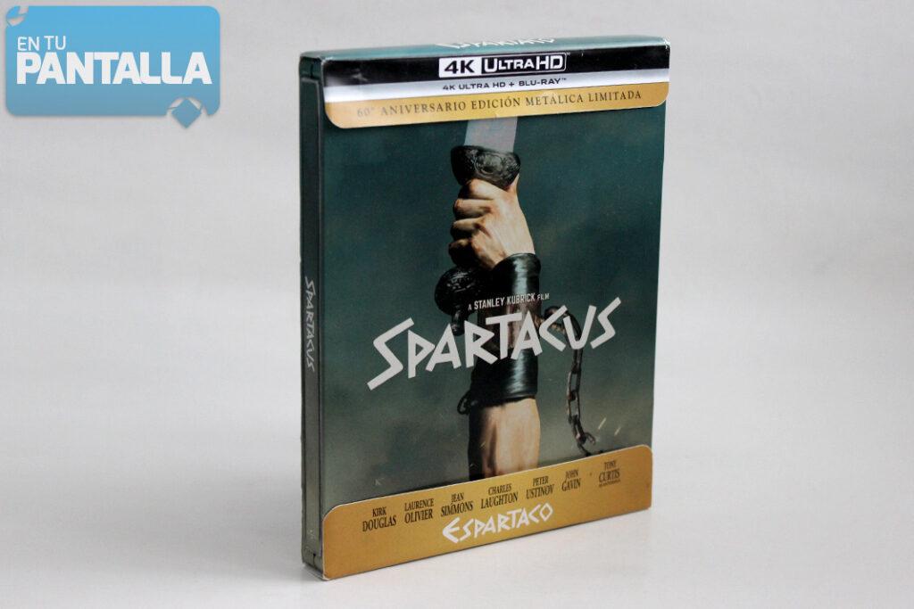 'Espartaco': Un vistazo al steelbook 4K Ultra HD • En tu pantalla