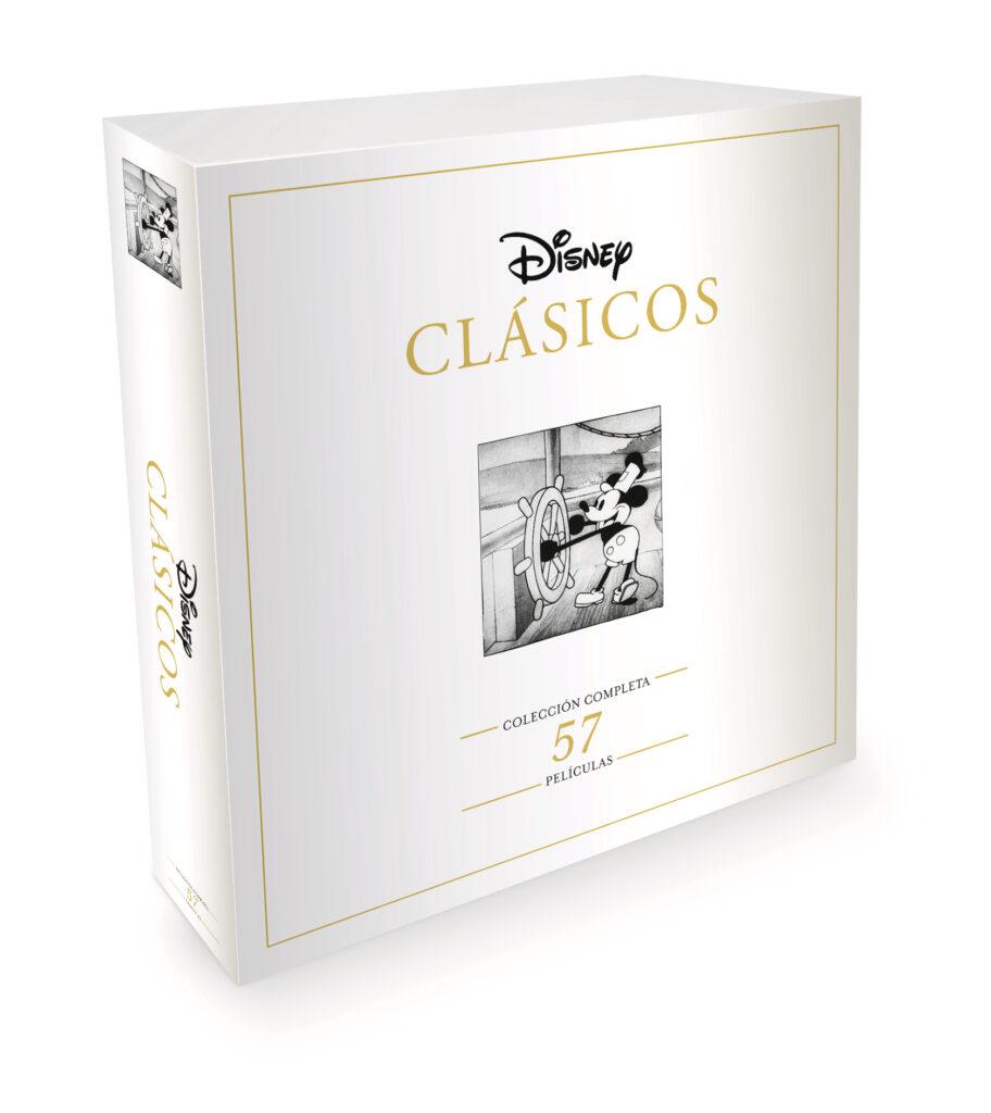 'Disney Clásicos': Un pack con las 57 películas en Dvd • En tu pantalla