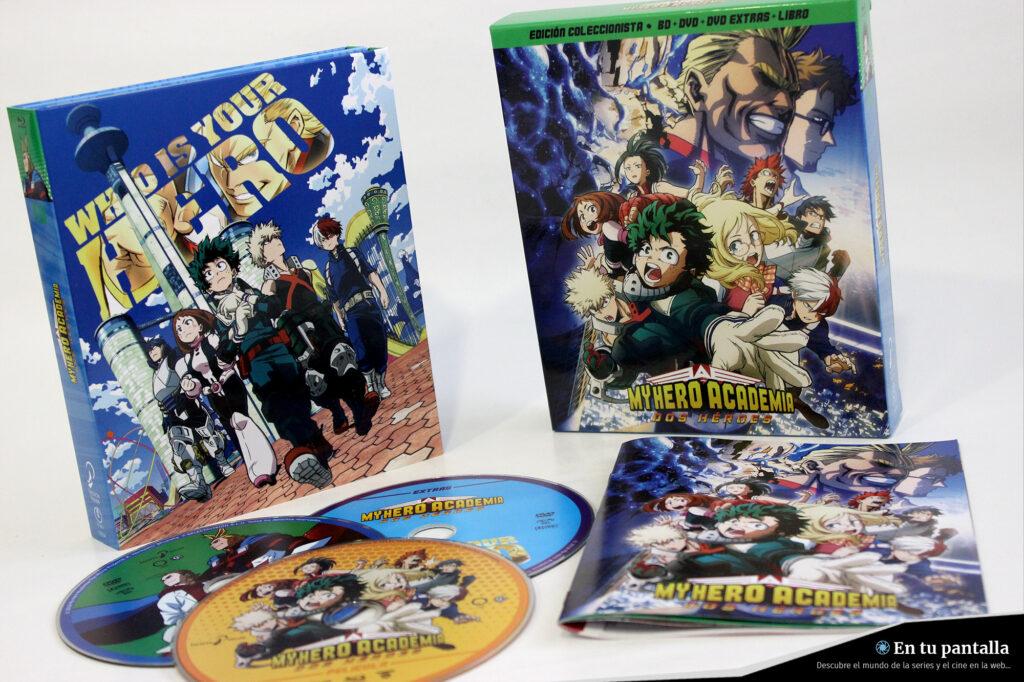 'My Hero Academia: Dos Héroes': Un vistazo al pack Blu-ray de Selecta Visión • En tu pantalla