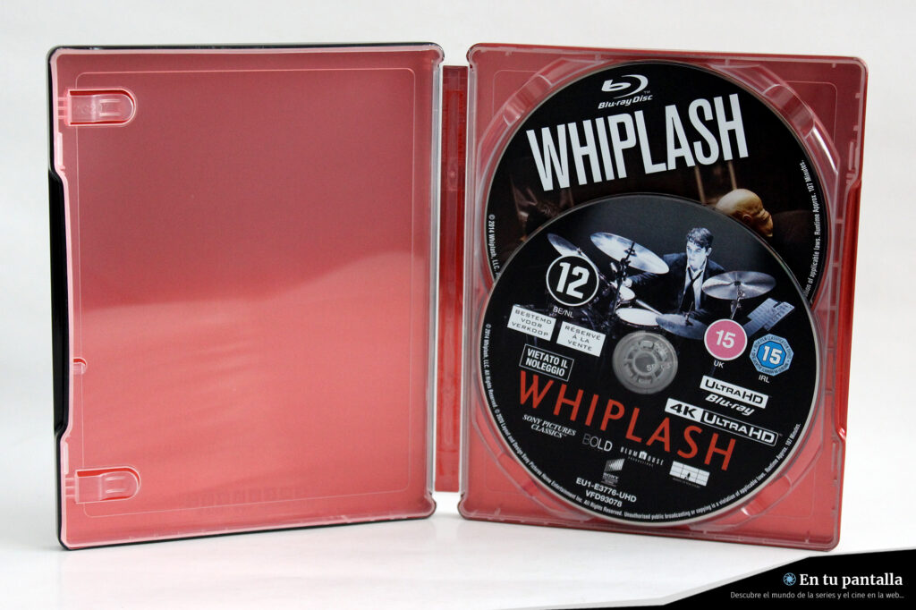 'Whiplash': Un vistazo al steelbook 4K Ultra HD • En tu pantalla