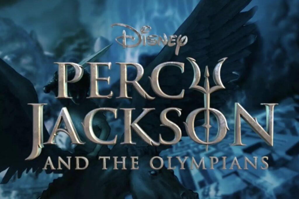 'Percy Jackson': La serie de Disney+ desvela su logo • En tu pantalla