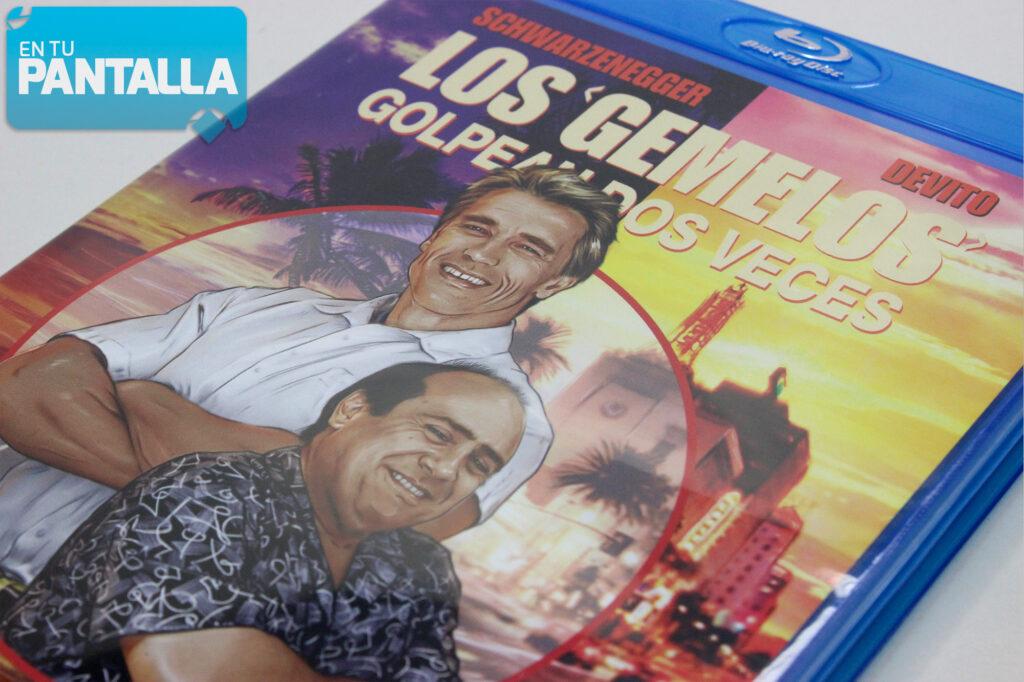 Análisis Blu-ray: 'Los gemelos golpean dos veces', un lanzamiento muy esperado • En tu pantalla