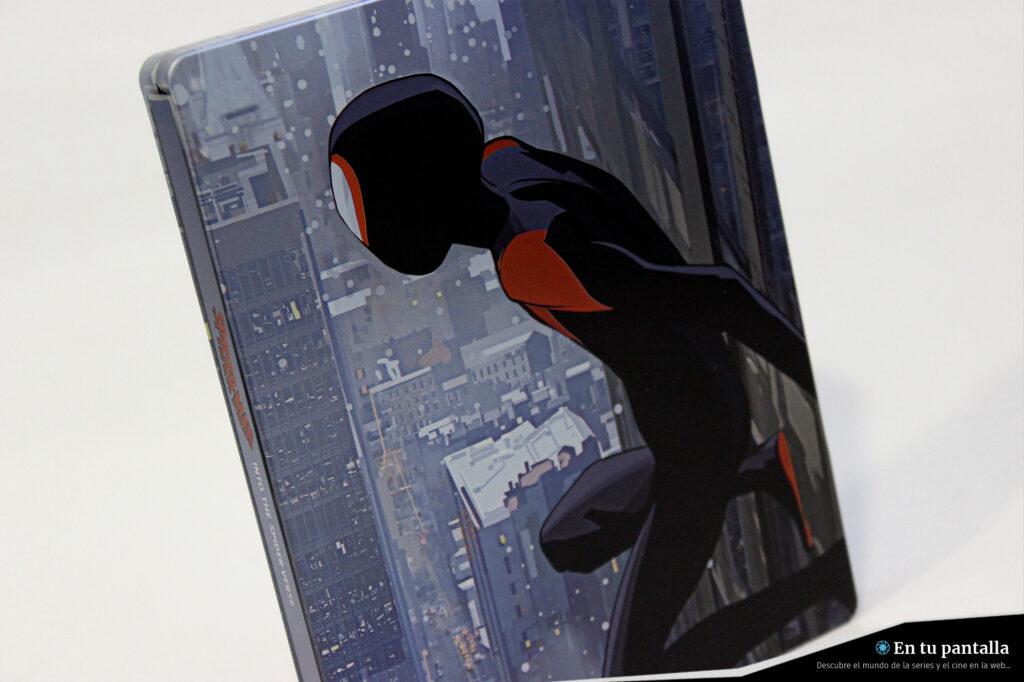 'Spider-Man: Un nuevo universo': Un vistazo al nuevo steelbook Blu-ray • En tu pantalla