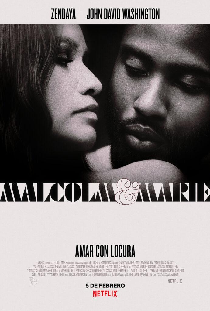 'Malcolm & Marie': Tráiler de la película con Zendaya y John David Washington • En tu pantalla