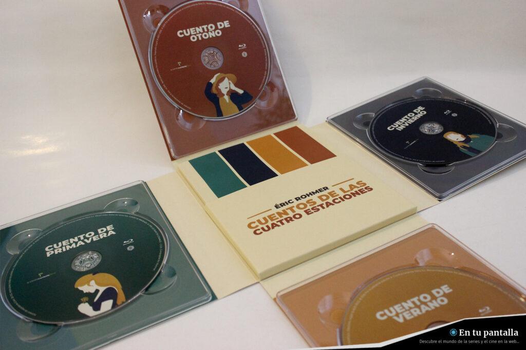 'Cuentos de las cuatro estaciones': Un vistazo al pack Blu-ray de A Contracorriente • En tu pantalla
