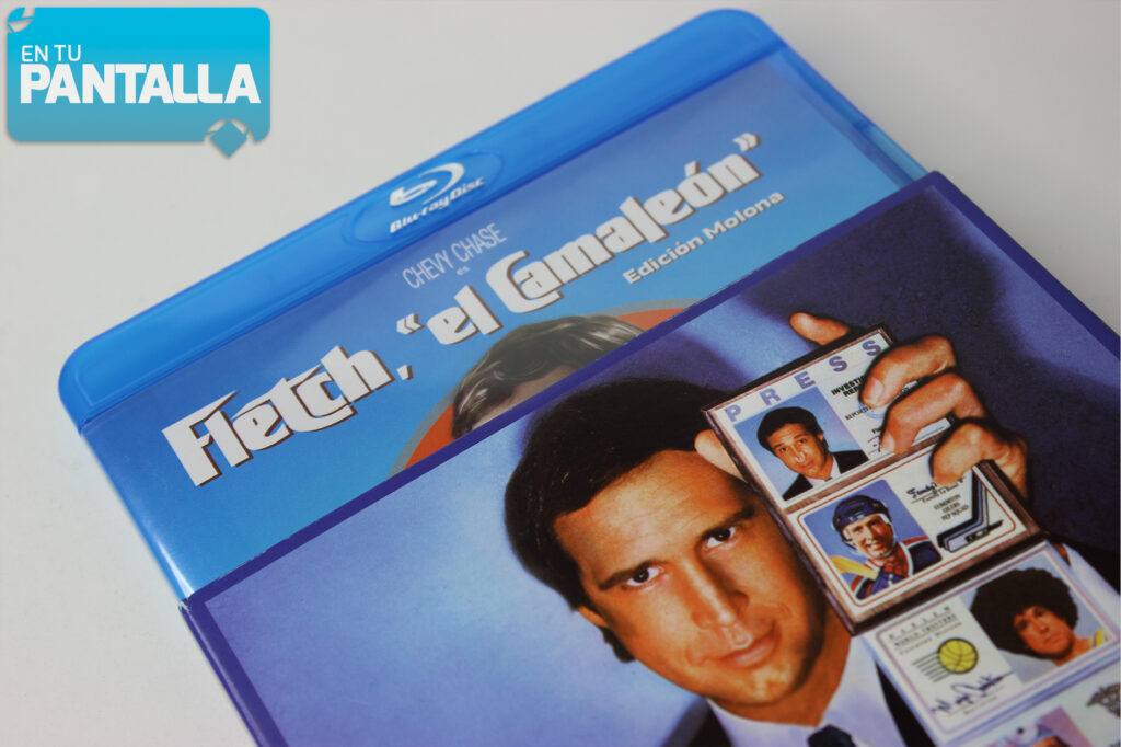 Análisis Blu-ray: 'Fletch, el camaleón', un nuevo lanzamiento de Reel One • En tu pantalla