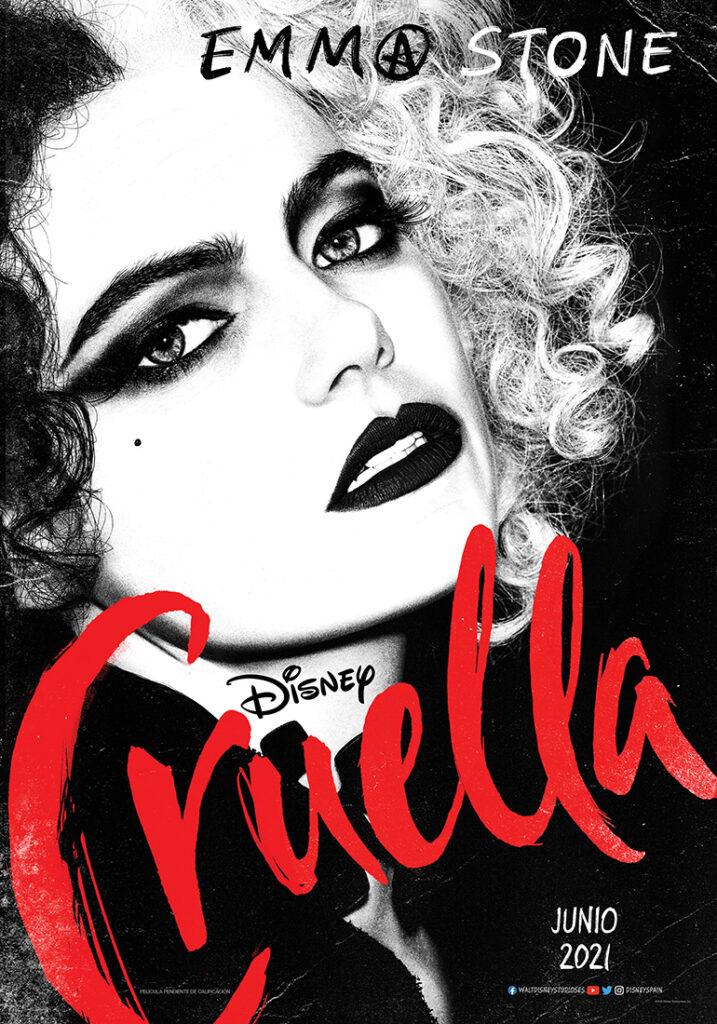 'Cruella': Póster del nuevo live-action de Disney • En tu pantalla