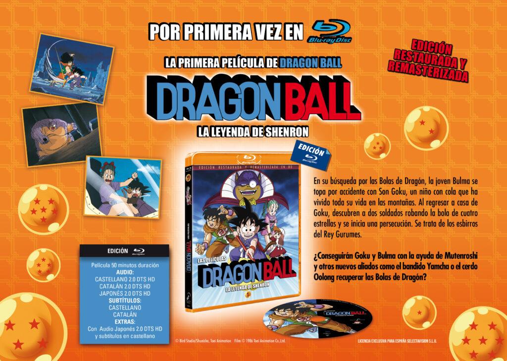 'Dragon Ball: La leyenda de Shenron' llegará en Blu-ray el 28 de abril • En tu pantalla