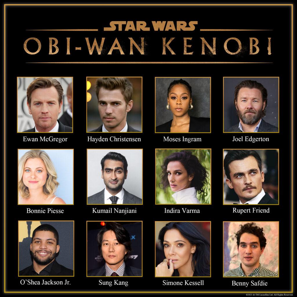 'Obi-Wan Kenobi': Arranca el rodaje de la serie y se presenta el reparto • En tu pantalla