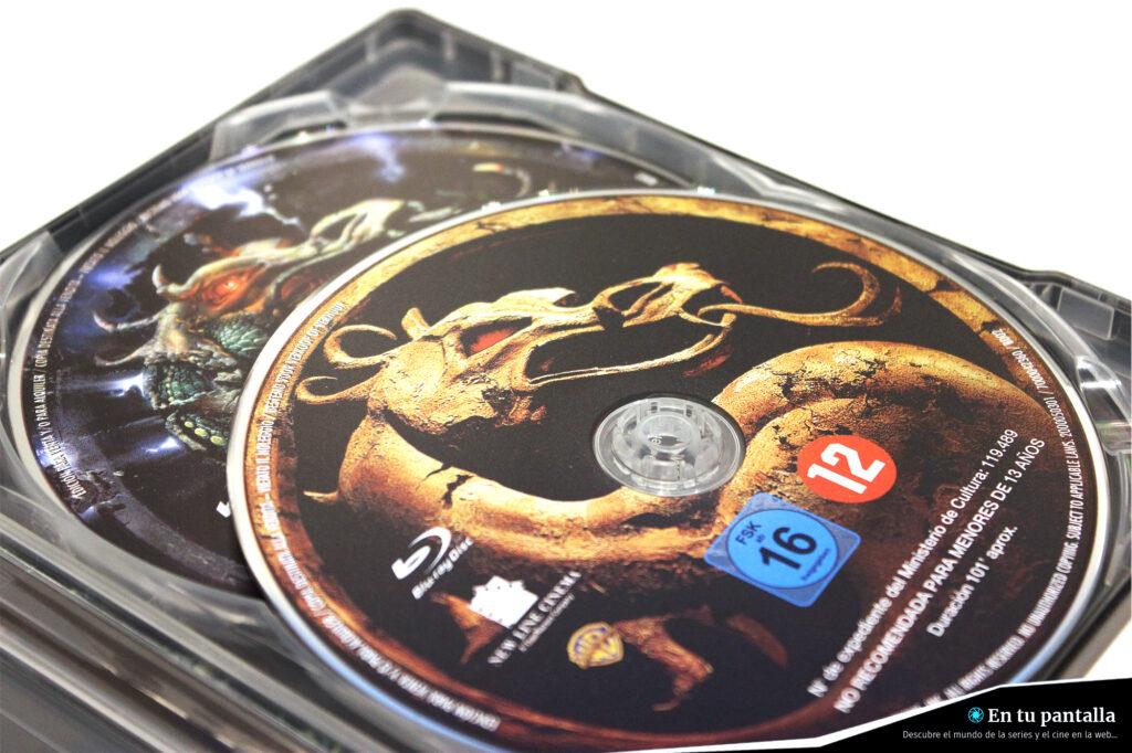 'Mortal Kombat': Un vistazo al steelbook Blu-ray con las dos entregas • En tu pantalla