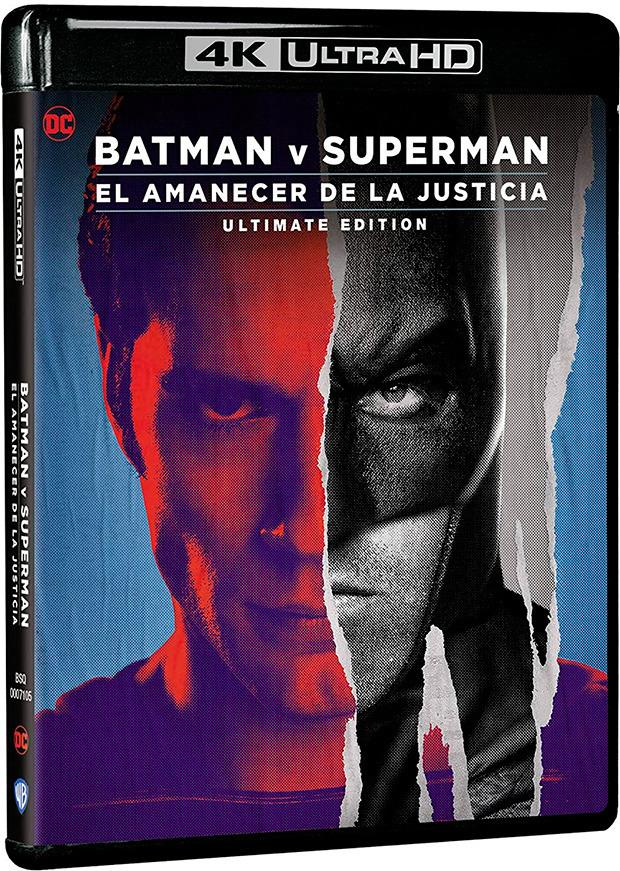 'Batman v Superman: El Amanecer de la Justicia' remasterizada en 4K Ultra HD el 26 de mayo • En tu pantalla