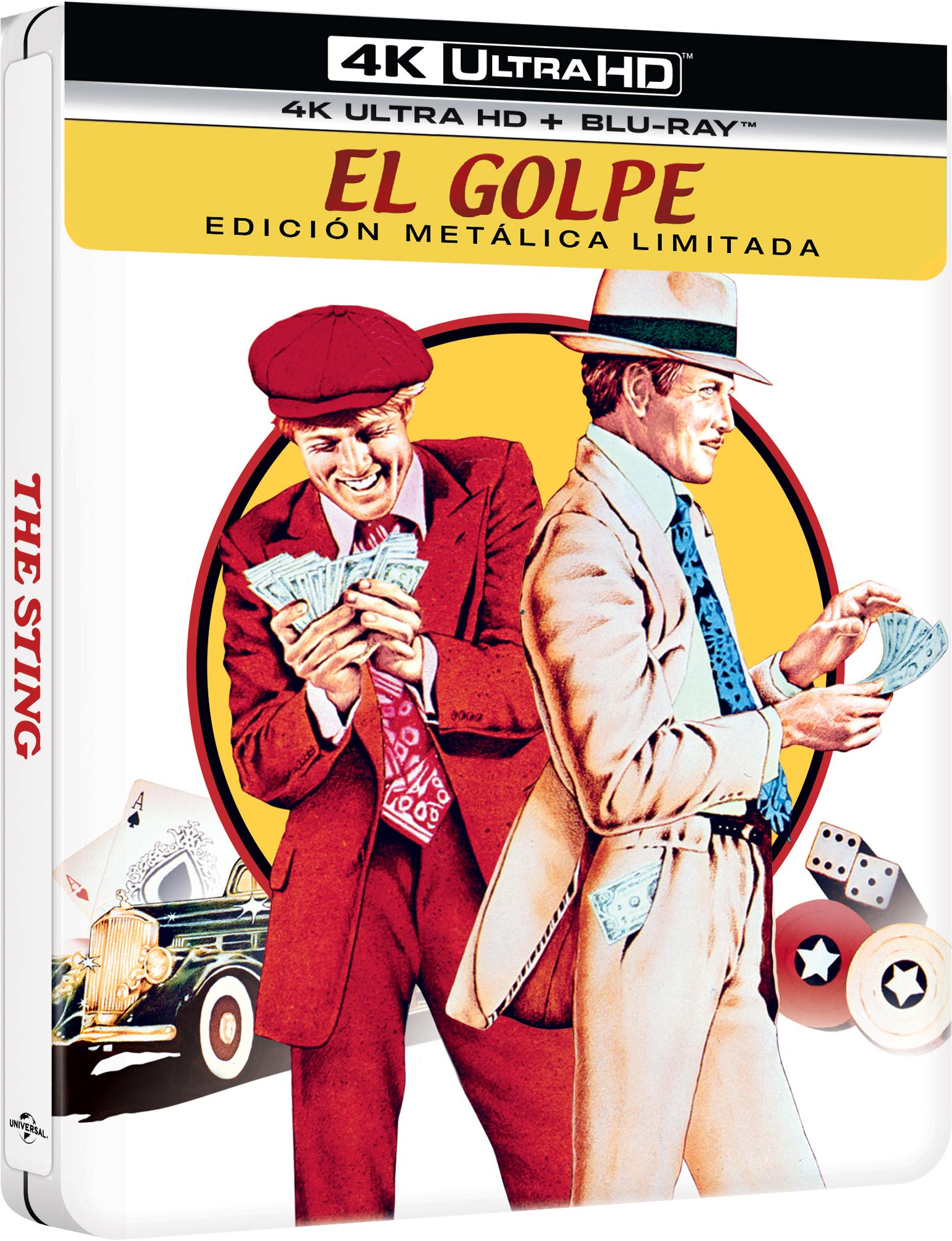 'El Golpe' llegará en Steelbook 4K Ultra HD el 19 de mayo • En tu pantalla
